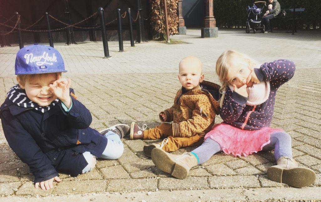 Spoorwegmuseum met kinderen