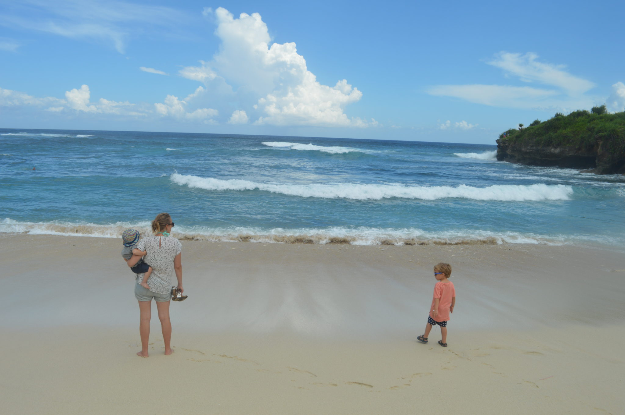 verre reis met kinderen