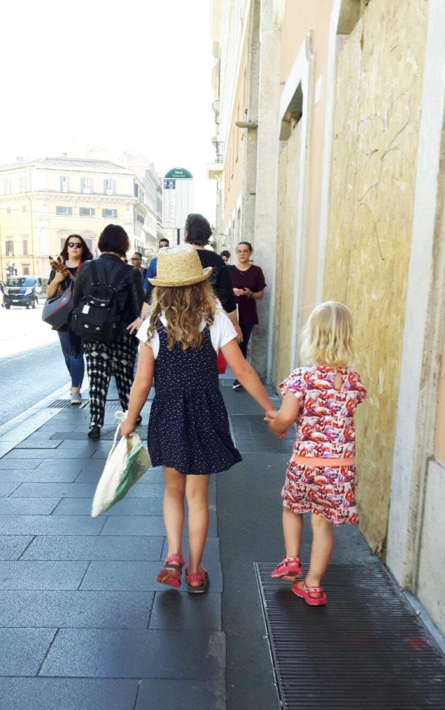 camperreis Rome met kinderen