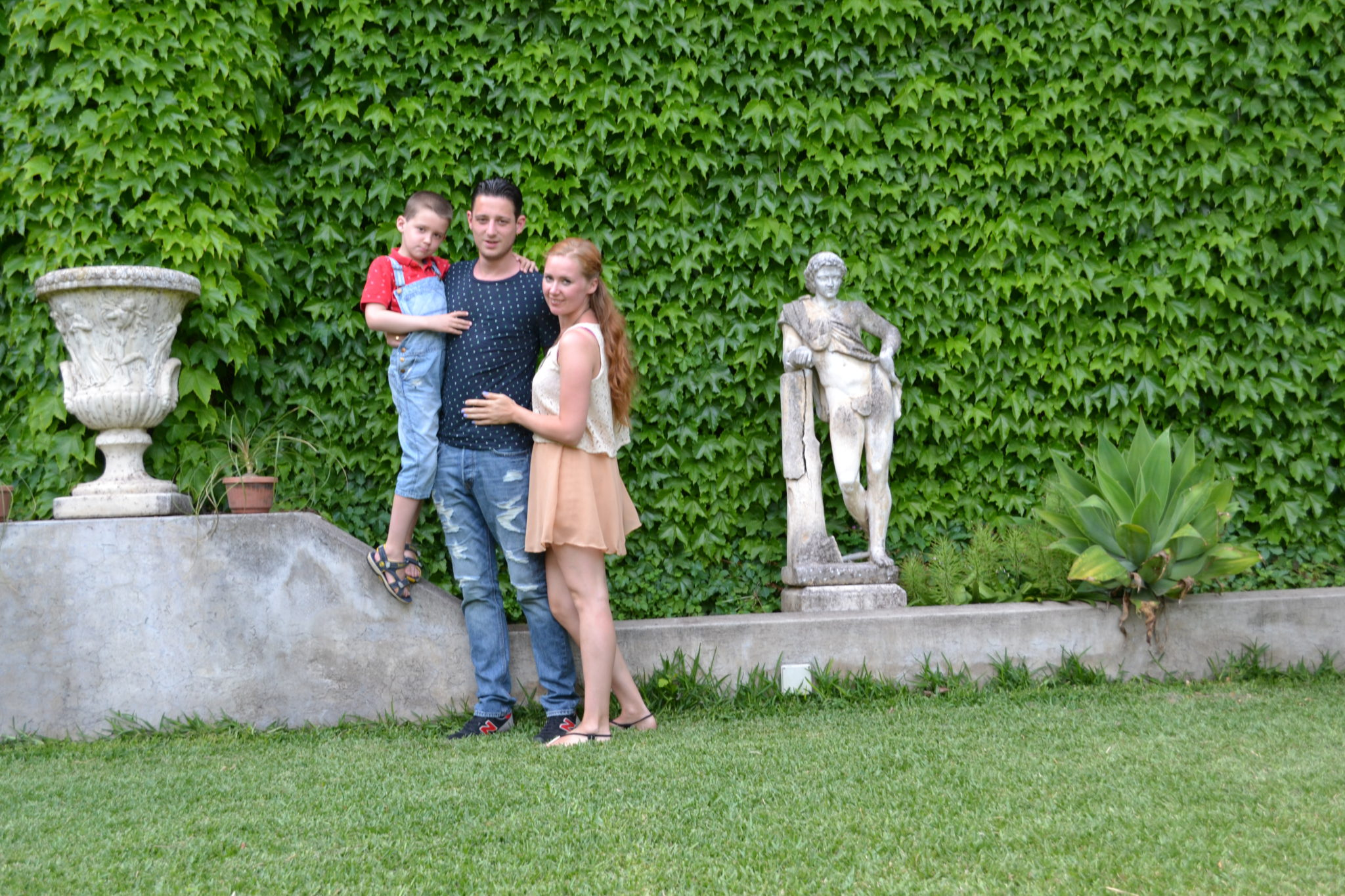 Almafikust Pompeii in Italië