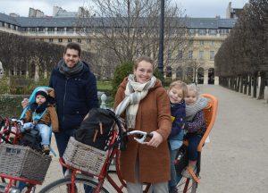 fietstocht Parijs