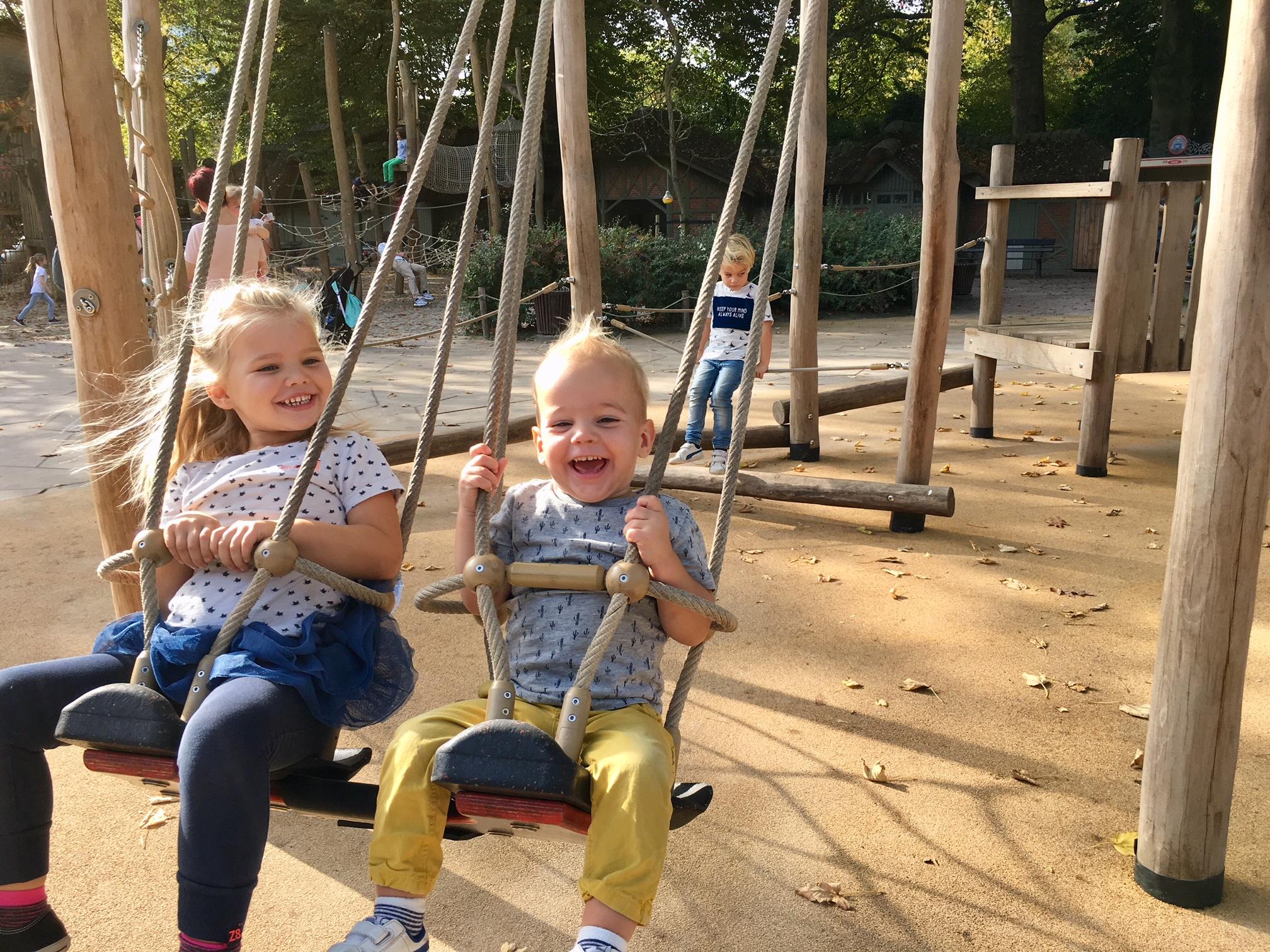 Zoo Antwerpen met kinderen