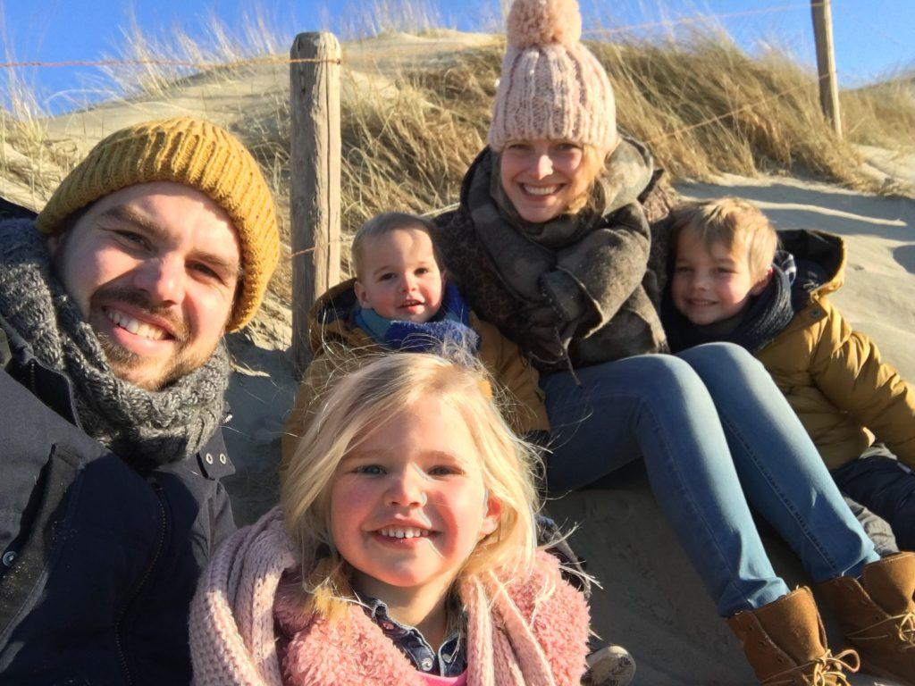 Texel met kinderen