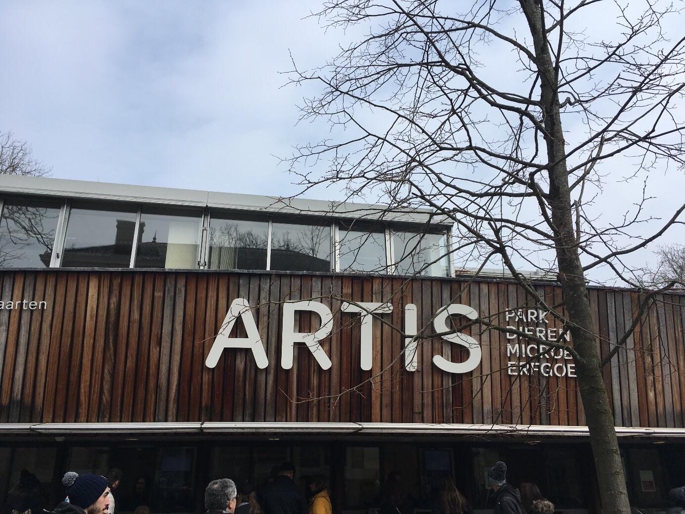 Dierentuin Artis in Amsterdam