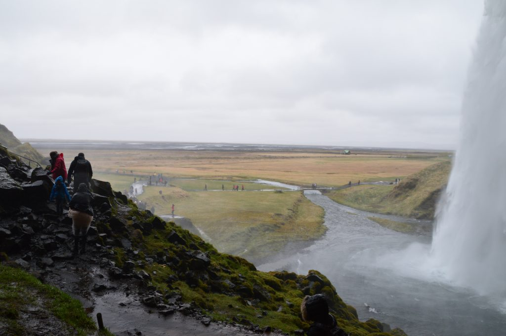 watervallen aan de zuidkust in IJsland
