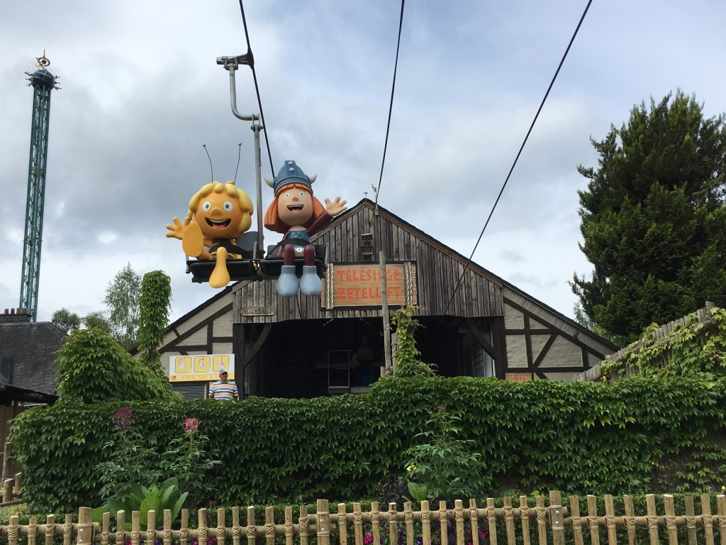 Plopsa Coo in de Belgische Ardennen