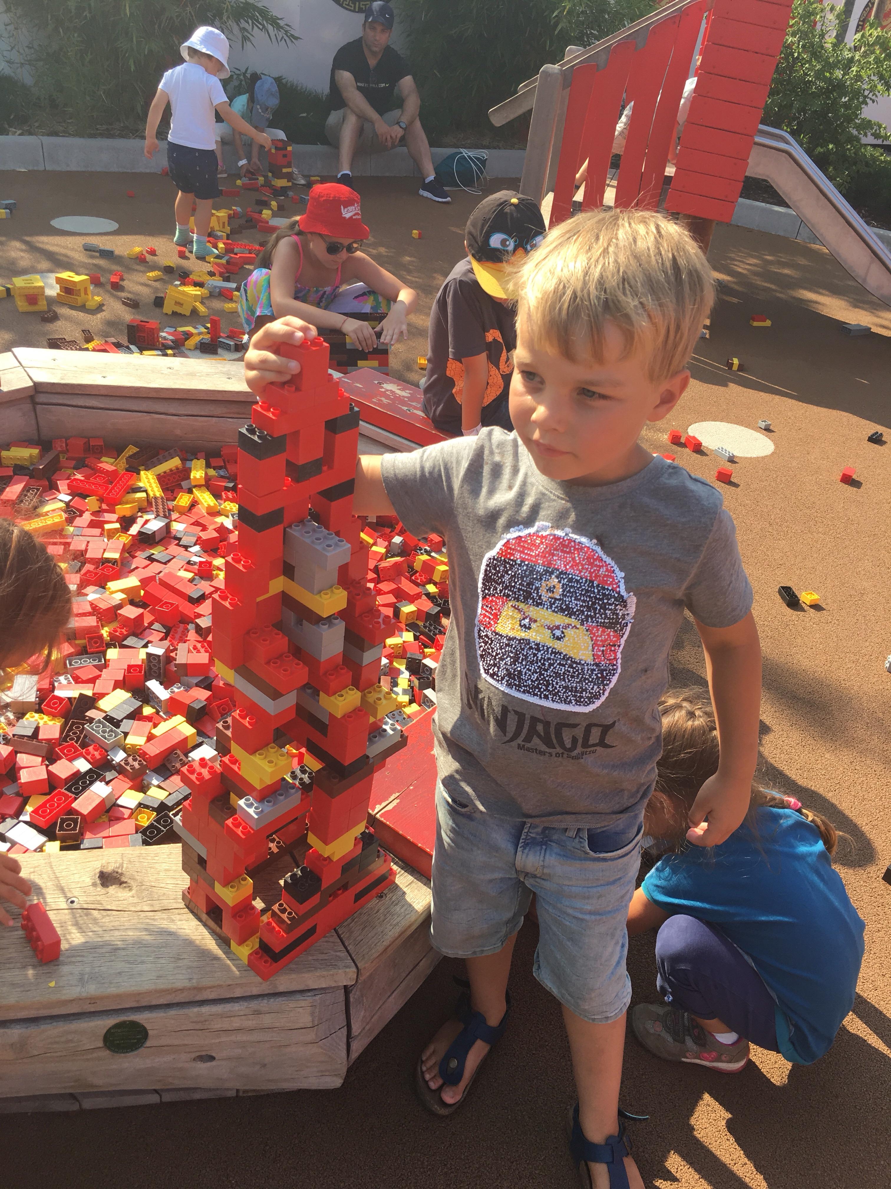 Legoland Duitsland als tussenstop