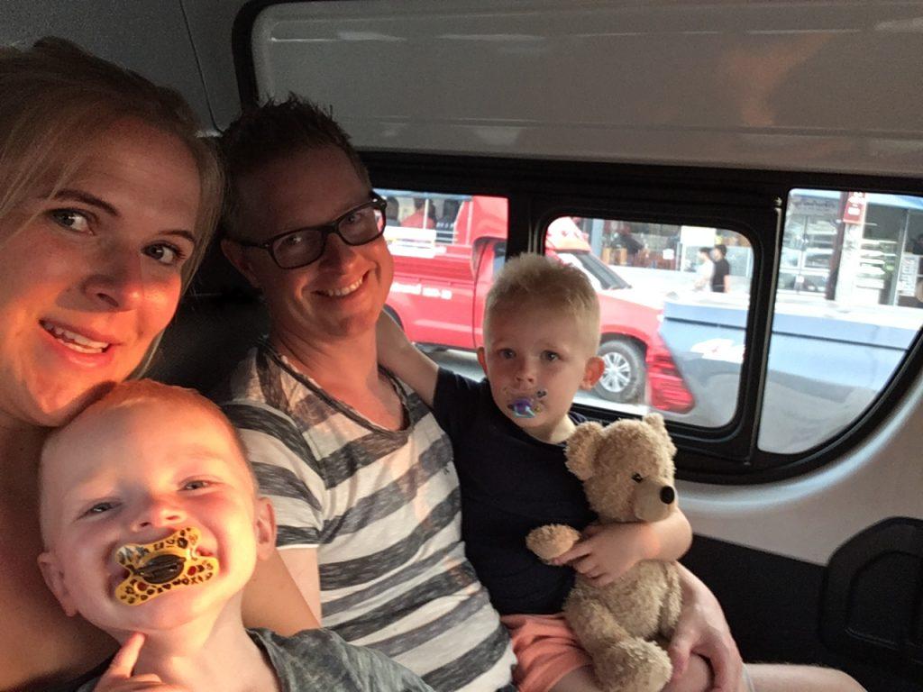 Krabi met kinderen