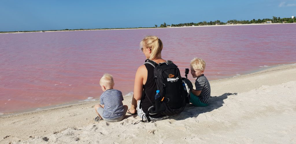 Rio Lagartos met kinderen