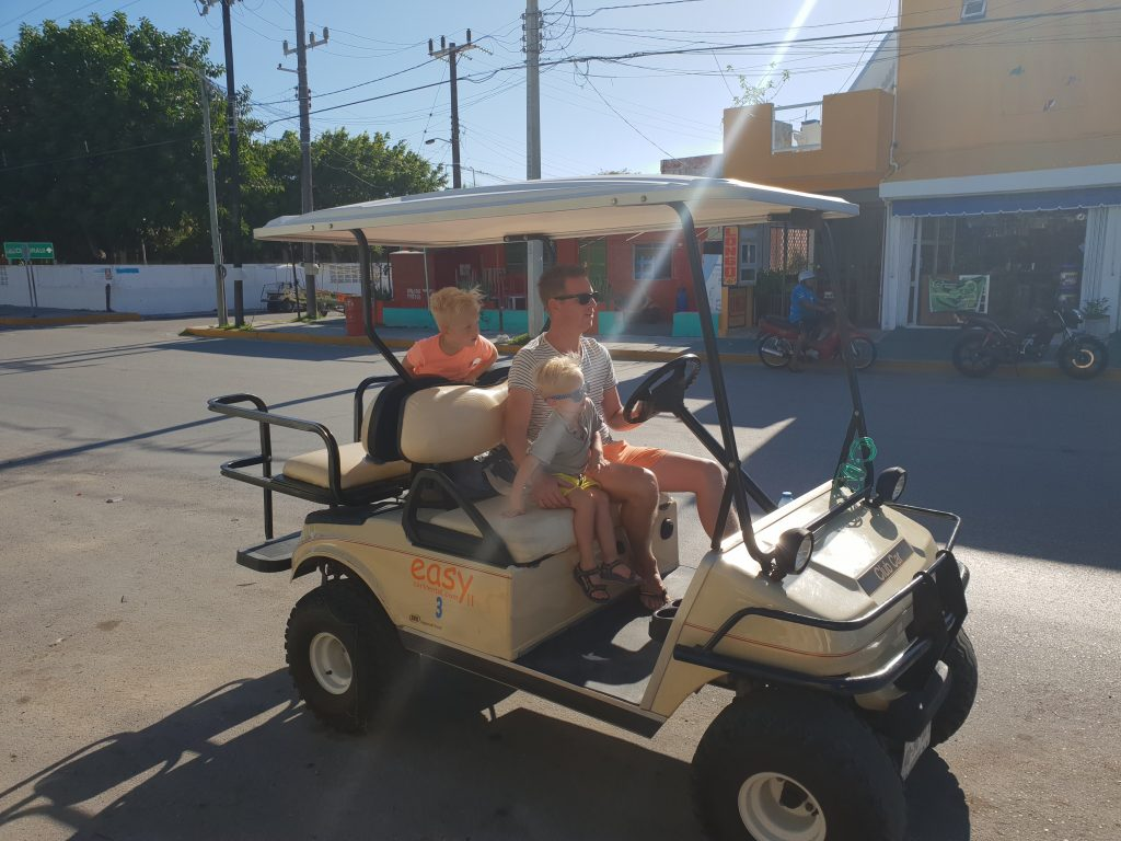 Isla Mujeres met kinderen