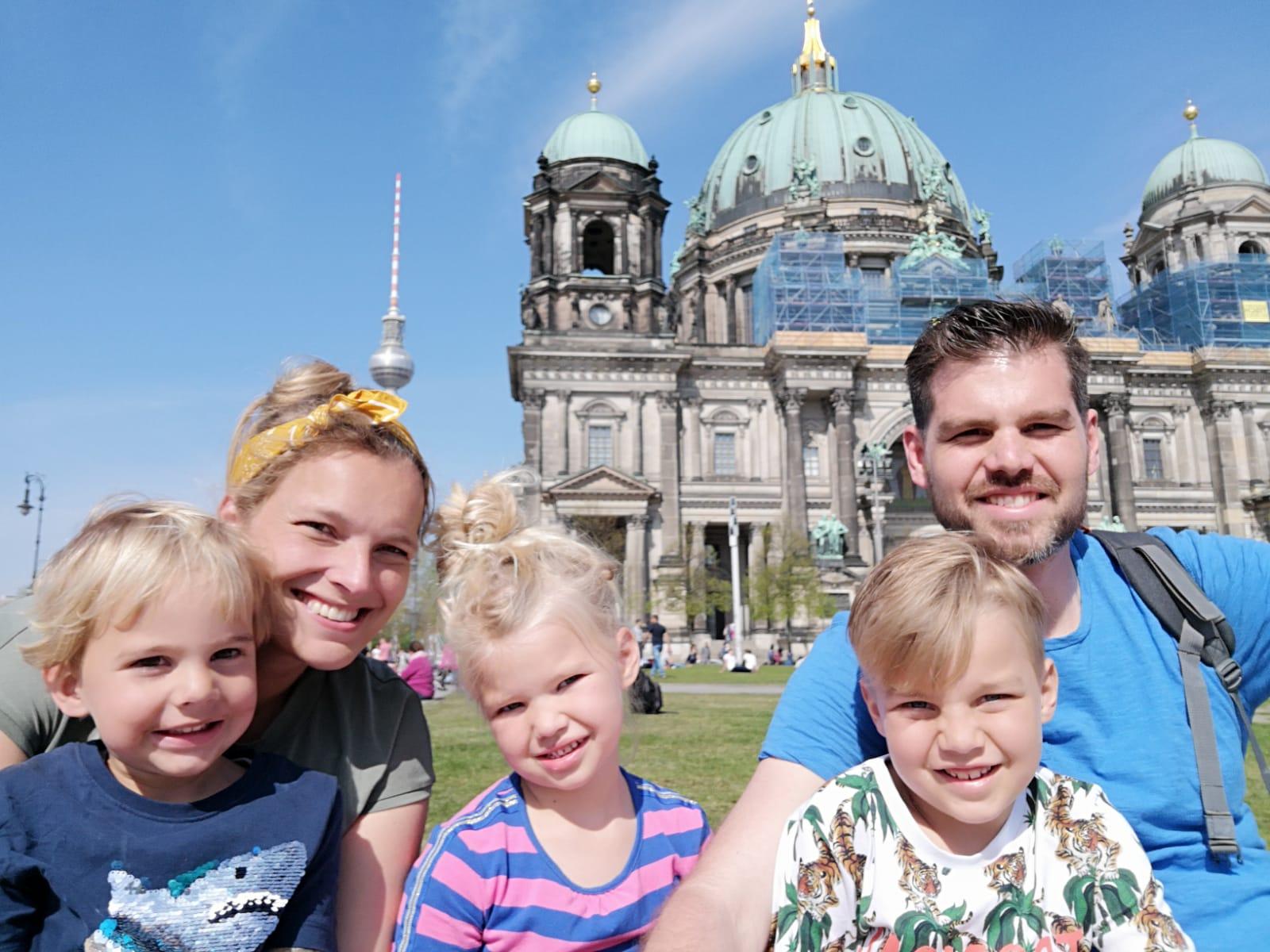 Fietsen door Berlijn met kinderen